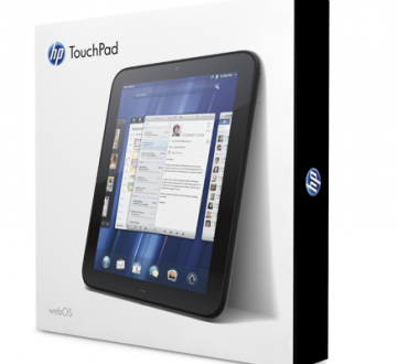 HP's TouchPad