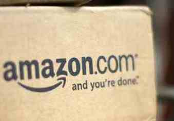 "A box from Amazon.com is pictured on the porch of a house in Golden, Colorado in this July 23, 2008 file photograph. Amazon.com Inc has cut ties with more than 10,000 online sales affiliates and will not start collecting California sales tax on July 1, 2011, a spokeswoman for the online retailer said. ""This legislation is counterproductive and will not cause our retail business to collect sales tax for the state,"" spokeswoman Mary Osako said in an email to Reuters on June 30, 2011.   REUTERS/Rick Wilking/Files  (UNITED STATES - Tags: BUSINESS MEDIA)"
