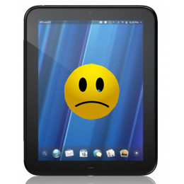 Sad face TouchPad