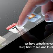 iPad event invitation