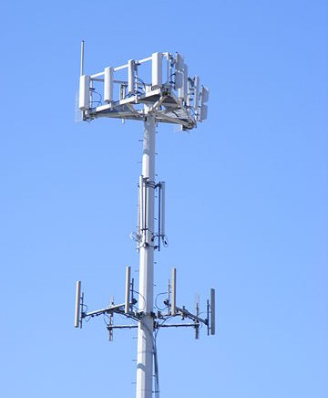 Photo of cell tower