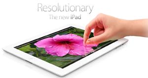 iPad screen image