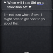 Siri screenshot