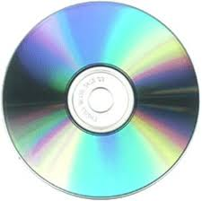 Picture of blank CD