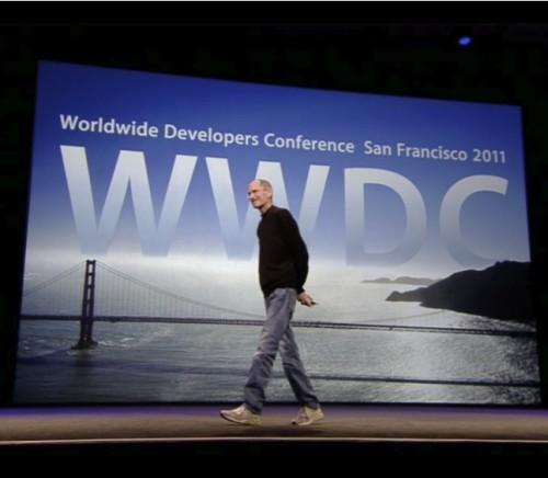 Steve Jobs at WWDC 2011