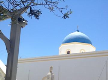 View of Santorini