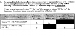 Apple verdict '889