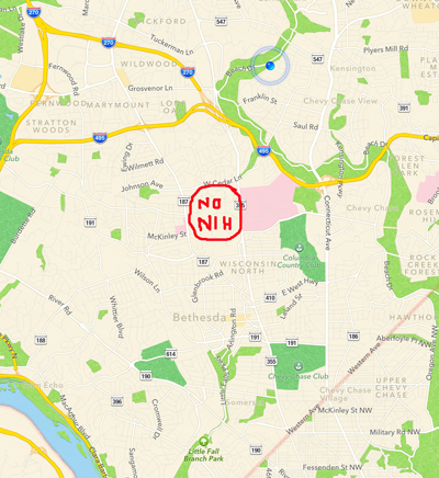 Sample Apple map
