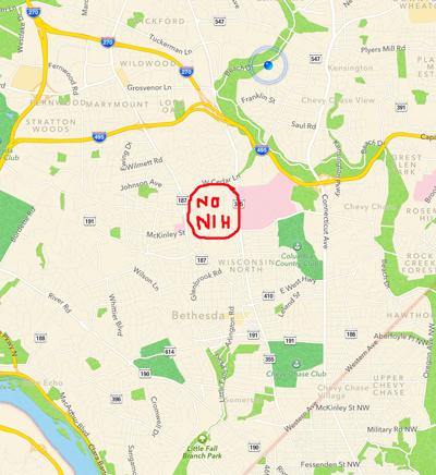 Sample Apple map
