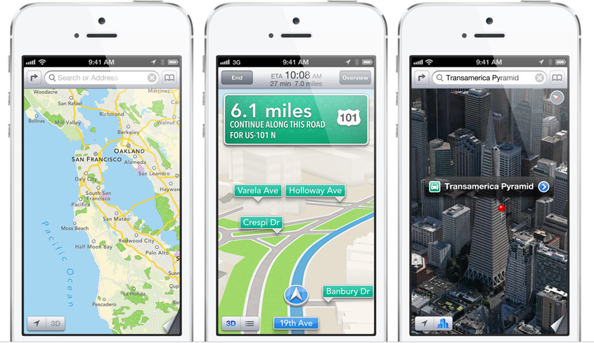 The Real Reason Why Apple Dropped Google Maps Techpinions - Google Maps Us 101