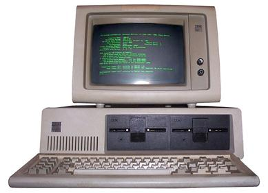 Photo of IBM PC (Wikipedia)
