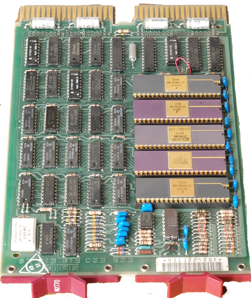 DEC system board (Wikipedia)
