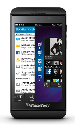 BlackBerry z10 photo (BlackBerry)