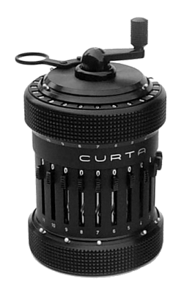 Curta calculator (Image: vcalc.net)