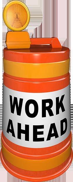 Work Ahead (© iQoncept - Fotolia.com)
