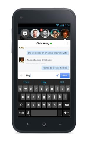 Facebook Home Chat-heat (Facebook)