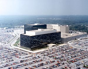 Photo of NSA HQ (Wikipedia)