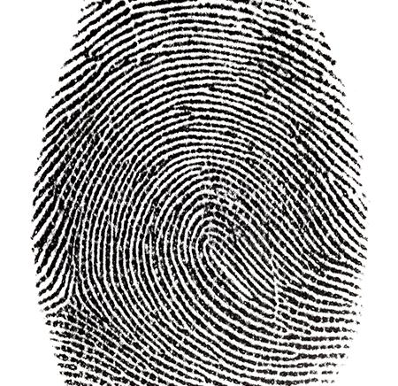 Fingerprint photo