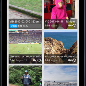 Photo of RealPlayer Cloud on iPhone (RealNetworks)