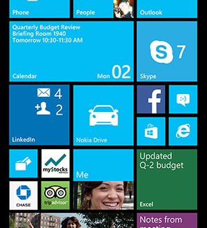 Windows Phone 8 with expanded display (Microsoft)