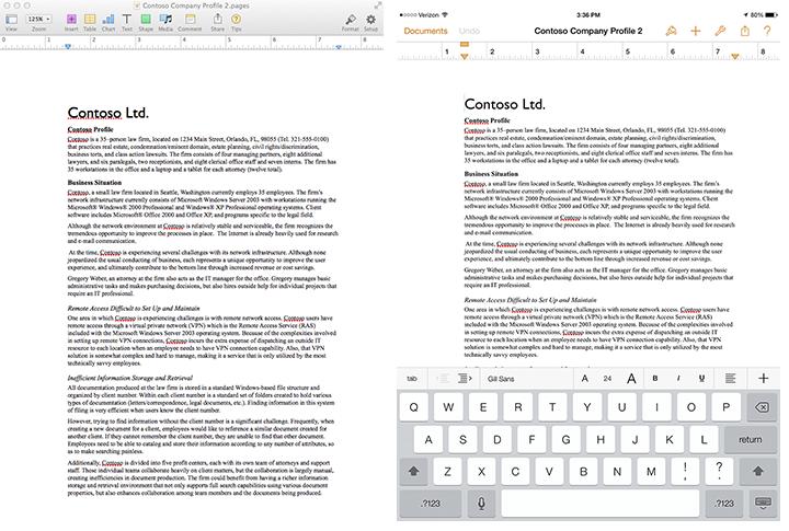 iWork vs  Office: Apple Chooses, Microsoft Faces a Dilemma