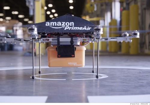 Photo of Amazon drone (Amazon.com)