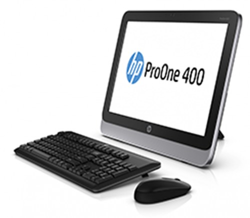 HP ProOne AiO_left w keyboard
