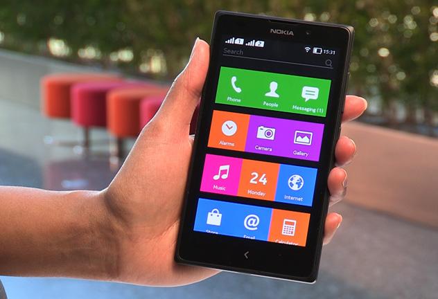 The Nokia x (Nokia)