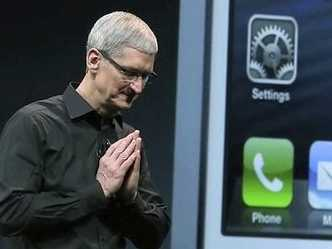 Tim cook in contemplation