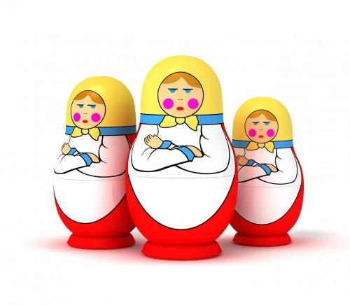 Russian Nesting (Matryoshka) Dolls
