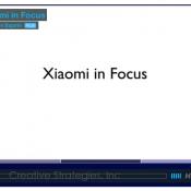 Video Analysis: Xiaomi in Focus
