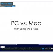 Video Analysis: Mac vs. PC With Some iPad Help