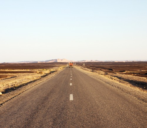 Road in Marocco