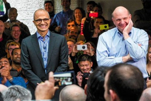 Nadella and Ballmer
