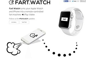 Fart app ad