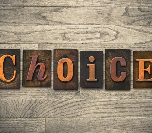 Choice Wooden Letterpress Theme