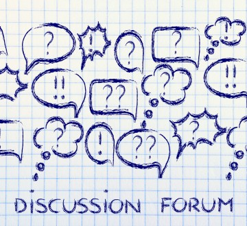 conceptual design of internet chats, forums, communities