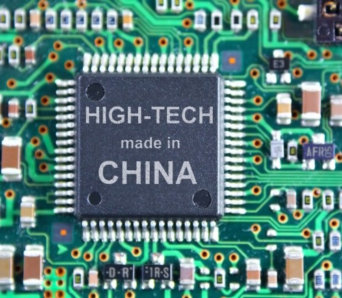 High-Tech made in China - Picture of Chip Manufactured in China