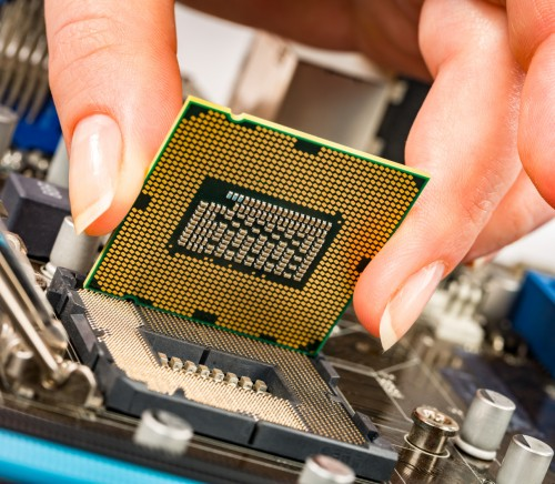Modern processor and motherboard for a home computer