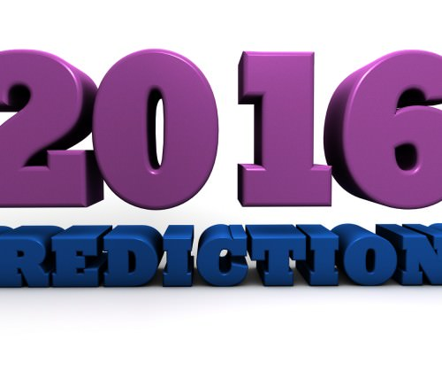 2016 predictions and forecast