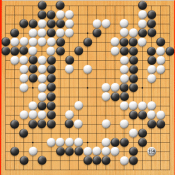 Positions from AlphaGo's first win against Fan Hui