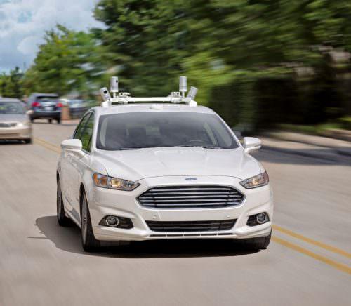 Ford-Fusion-Autonomous-Testing