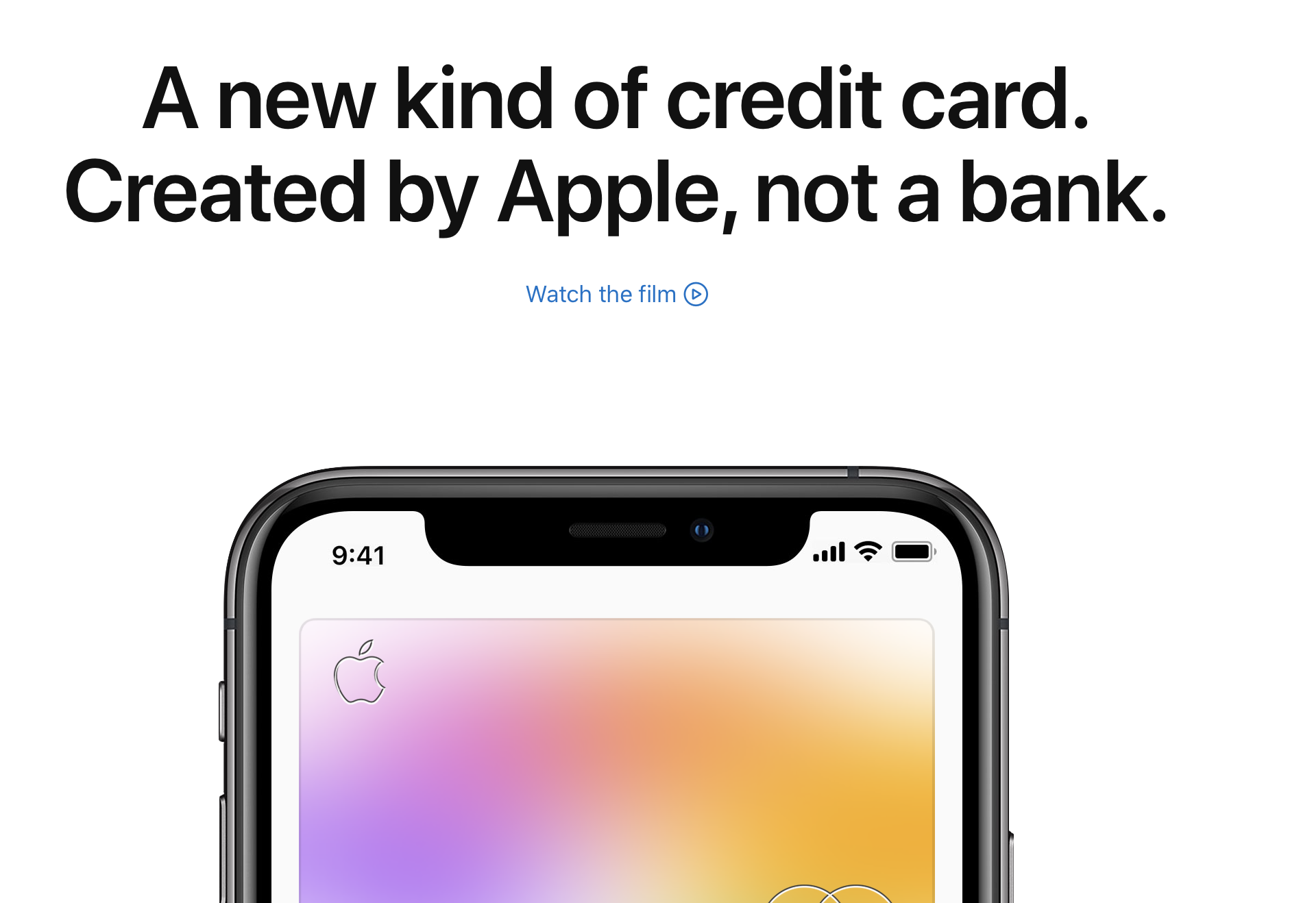 Apple's Strategy with Apple Card